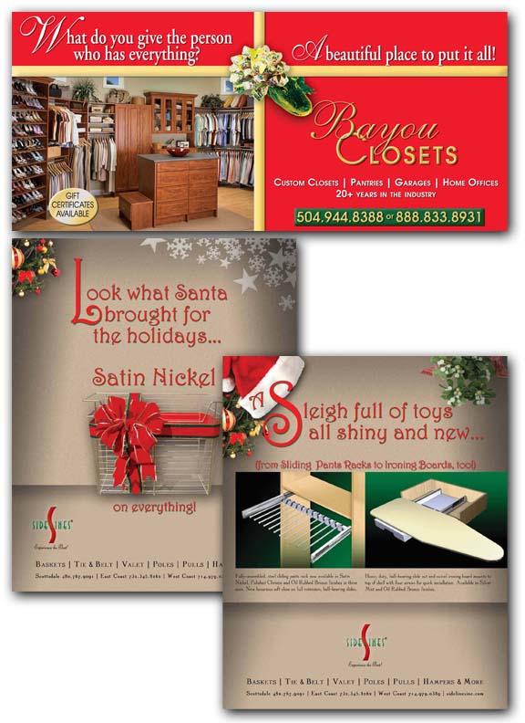 Holiday Ad Samples Pic
