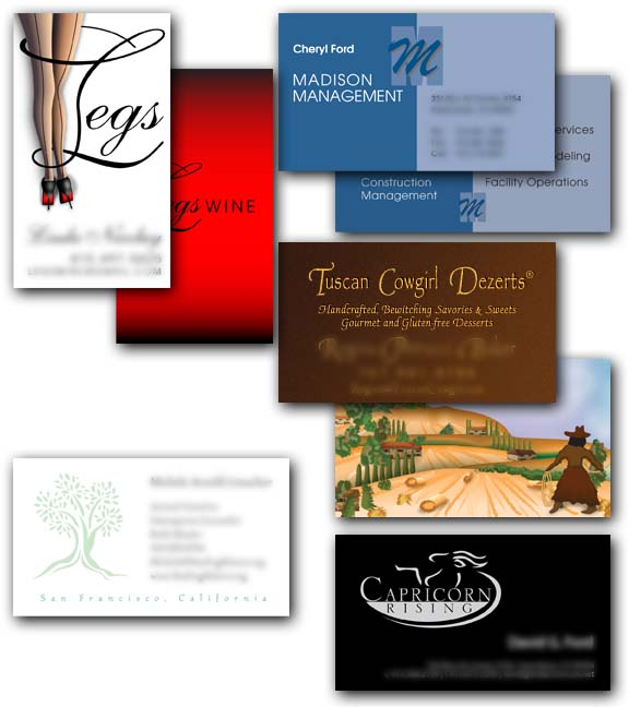 Misc. Biz Card Samples - Pic