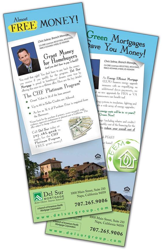 Del Sur Mortgage Ad Samples