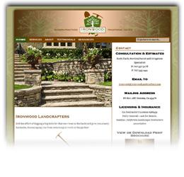 Website-IronwoodLandcrafters.com