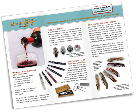 Brochure Design - The Meritage Company