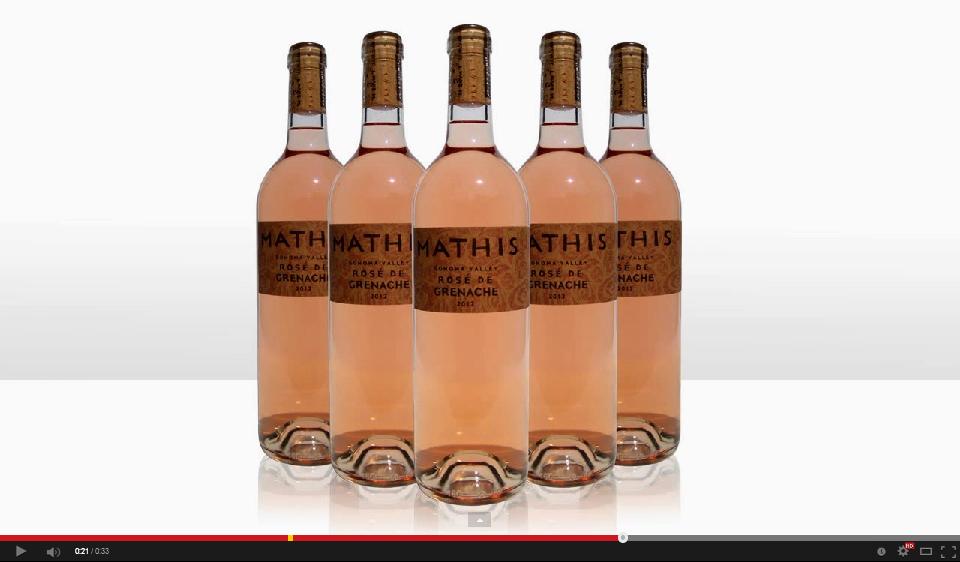 Thumbnail - Mathis Rosé de Grenache Video