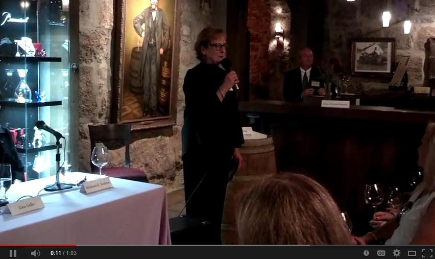 Christine Mueller at Women in Wine