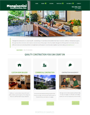 Mangiantini Construction Website Design