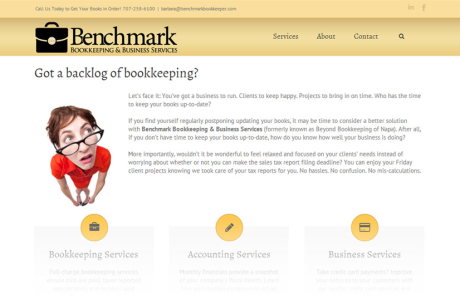 Benchmark Bookkeeping - home page