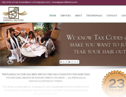 The Payroll Factory – Website Design