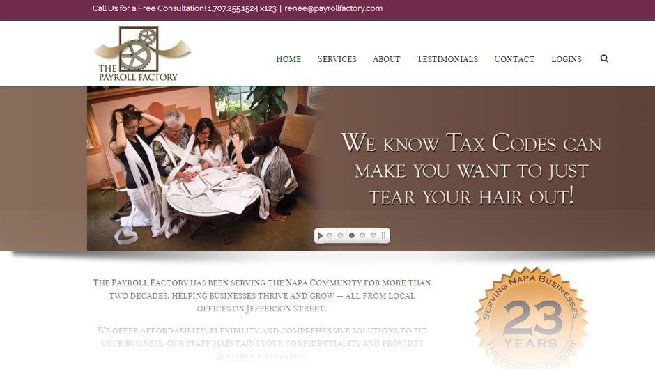 The Payroll Factory - home page