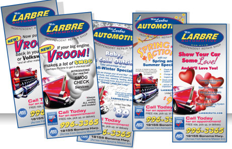 Larbre Automotive - Print Advertising Samples