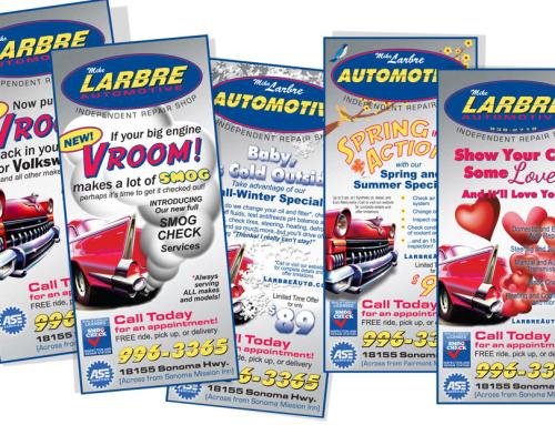 Larbre Automotive – Print Advertising Design
