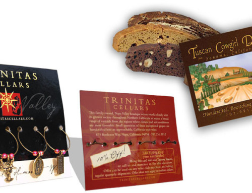 Packaging Design – Wine Charms and Biscotti