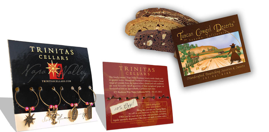 Packaging Design - Trinitas and Tuscan Cowgirl Dezerts