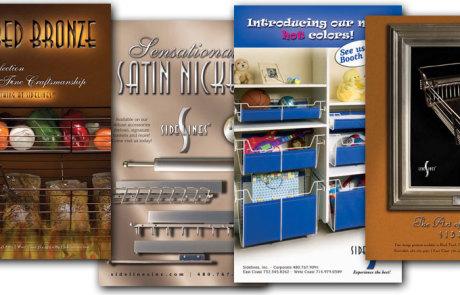 Print Ad Design - Sidelines, Inc.
