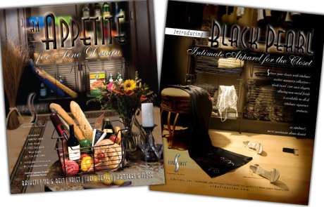Brochure Design Portfolio - Sidelines Samples