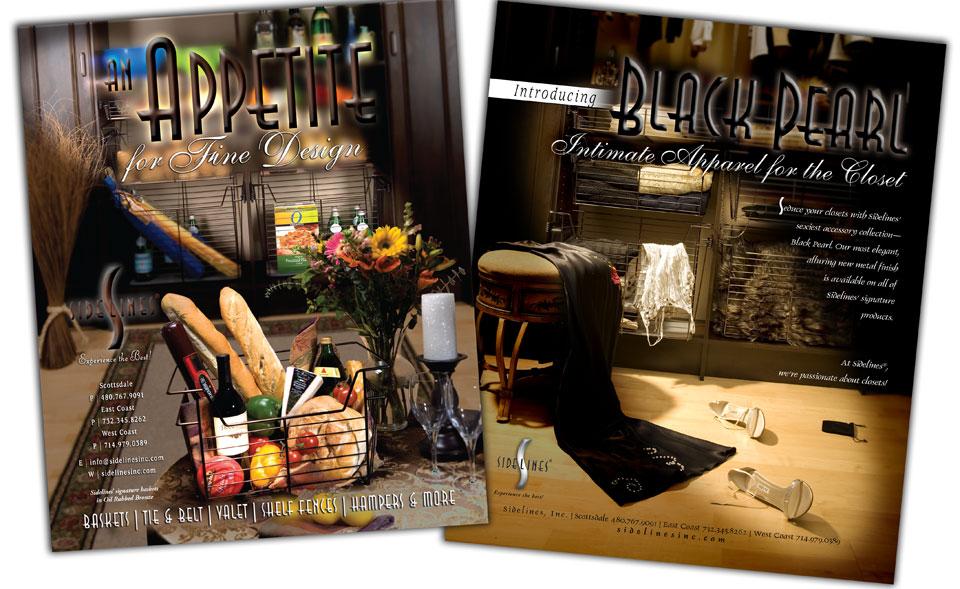 Brochure Design Portfolio - Sidelines Samples