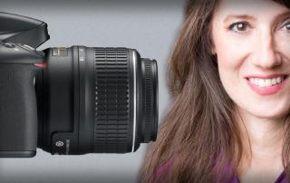 Camera and Marcia Macomber by Rick Bolen